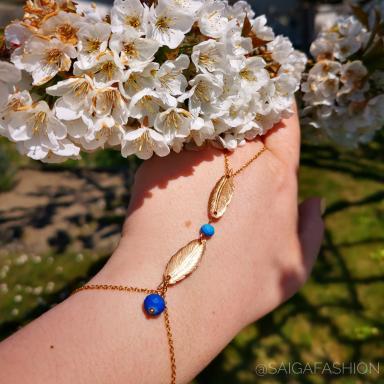 Bracelet / bague bracelet sur mesure