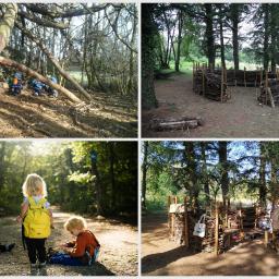 Éco-crèche en forêt et Mercredi nature pour les écoliers-ères