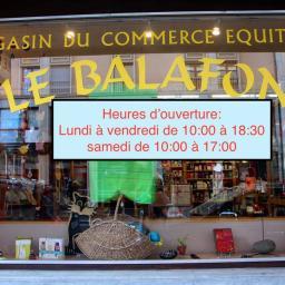 Le Balafon - magasin du commerce équitable